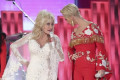 Katy Perry criticized for appearing to try and upstage Dolly Parton during Grammys tribute