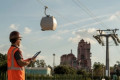 Disney World gondolas are in test mode