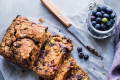 Vegan Spiced Blueberry Breakfast Cake