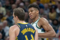 Giannis respects Thad Young, but 'I don't think there's one guy who can stop me'