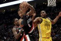 Lillard has 29 in Blazers' chippy 129-107 win over Warriors