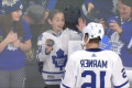 Watch: Leafs' Marner makes adorable girl's Valentine's Day