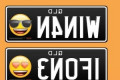 Drivers will now be able to get EMOJIS on their number plates as part of a controversial trial – but only five symbols will be allowed