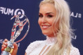 Laureus: Lindsey Vonn wins Spirit of Sport award at the 'Oscars of Sport'