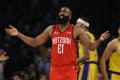 James Harden questionable for Saturday's game with neck strain