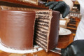 This Gigantic 24-Layer Chocolate Cake Is A Foot Tall And Weighs 20 Pounds