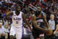 Harden's 31 points help Rockets past 76ers 107-91