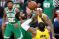 Kyrie Irving on facing LeBron James in Celtics-Lakers rematch: 'It's just another game'