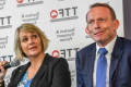 Zali Steggall calls on Tony Abbott to denounce 'trolls'