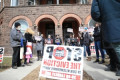 Tenant advocates protest evictions from Riverdale rooming house