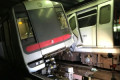 Hong Kong metro trains crash during test