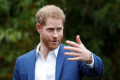 A boy didn't believe Prince Harry was a real prince because he wasn't wearing a crown when they met