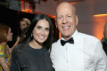 Demi Moore Attends Ex-Husband Bruce Willis' 10-Year Wedding Anniversary Party