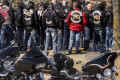 Hundreds of bikers honour murdered Hells Angel at Woodbridge funeral