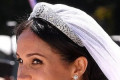 The Queen bans Meghan from wearing jewellery from the Royal Collection including tiara worn by Princess Diana despite allowing Kate to don priceless pieces - sparking fury from Harry