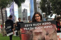 Hundreds of animal rights activists rally in Melbourne demanding an end to slaughterhouses and meat sales