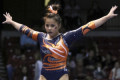 Auburn gymnast breaks both legs while performing routine during NCAA championships
