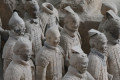 Case against partygoer who snapped terracotta warrior's thumb off at museum ends in mistrial