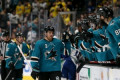 NHL playoffs 2019: Sharks' Joe Pavelski scores goal off mouth in Game 1 vs. Golden Knights