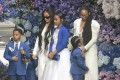 Nipsey Hussle's Girlfriend Lauren London Brings Kids Onstage to Pay Tribute to Him at Memorial Service