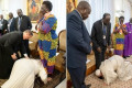 Pope Francis, in Plea for South Sudan Peace, Stuns Leaders by Kissing Their Shoes