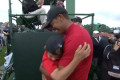 Masters 2019: Watch Tiger Woods' melt-your-heart post-victory hug with his kids