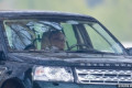Prince Philip, 97, is spotted behind the wheel for first time since surrendering his driving licence over horror crash as he goes for a drive on private land at Windsor Castle