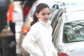 Suri Cruise rings in 13th birthday with flower photo session