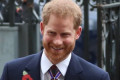 No baby yet, then! Prince Harry is a surprise late addition to Anzac Day service at Westminster Abbey as he joins sister-in-law Kate with wife Meghan due to give birth any day