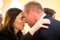 Prince William kicks off New Zealand tour on Anzac Day meeting Jacinda Ardern and survivors of the Christchurch massacre - while Kate attends a commemoration in London