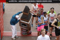 Watch: London Marathon Runner Dressed as Big Ben Struggles to Fit Under Finish Line