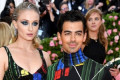 Sophie Turner and Joe Jonas Go Geometric at Their First Met Gala Together