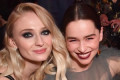 Sophie Turner Blames Emilia Clarke for That Coffee Cup in 'GoT'