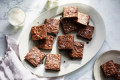 These Fudgy, Chewy Brownies Have a Tasty Trick Up Their Sleeve
