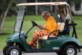 Tiger Woods isn't a fan of John Daly's plan to ride in a cart