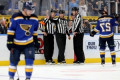Blues fans set up fundraiser for blind after refs miss blatant hand pass in Game 3