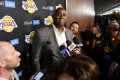 Report: Los Angeles Lakers will not hire replacement for Magic Johnson