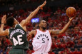 Raptors outlast Bucks in 2OT for Game 3 win