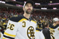 Chara returns to practice, anxious to play in Stanley Cup Final