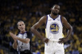 Kevin Durant and Andre Iguodala seem really mad at Fox Sports' Chris Broussard