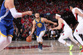Warriors sweep Blazers to return to NBA Finals