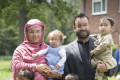 First Afghan translator who served alongside British soldiers arrives in the UK to start a new life with his family after years of death threats from the Taliban