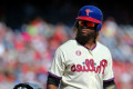 Phillies OF Herrera arrested in domestic case, put on leave