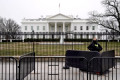 Man sets himself on fire near White House, Secret Service says