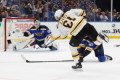 Stars lead 7-2 Boston rout of Blues, Bruins up 2-1 in final