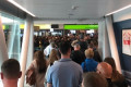 Passport control chaos in Dublin Airport as hundreds of people left in hour long queues