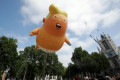 The baby Trump blimp will rise again for Trump's London visit
