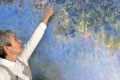 Under a Monet Painting, Restorers Find New Water Lilies