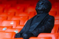 Valencia install statue at the Mestalla of late supporter who went blind but kept renewing his season ticket as club prepares for centenary celebrations