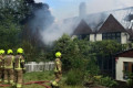 Fire at JLS singer's home treated as suspected arson